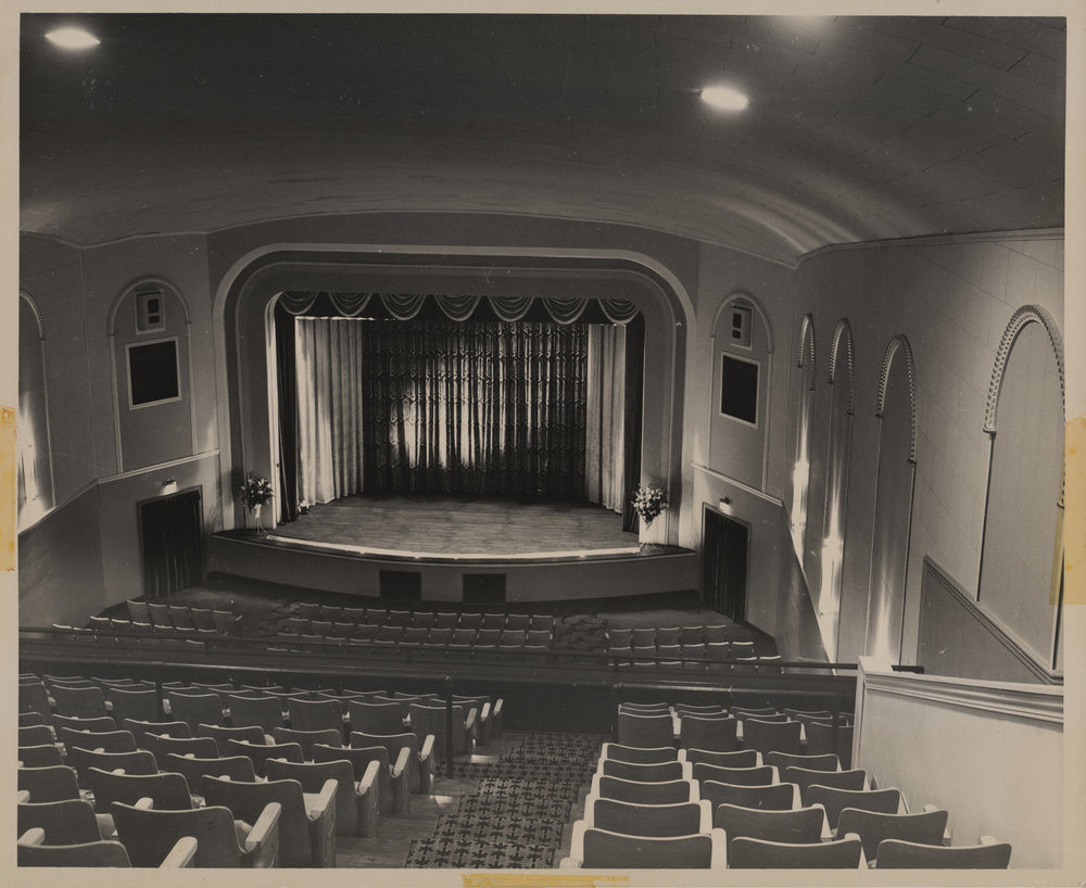 New Stage of the Appalachian Theatre, 1950