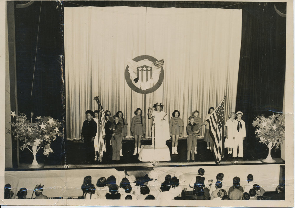 School Performance, Appalachian Theatre, Circa 1944