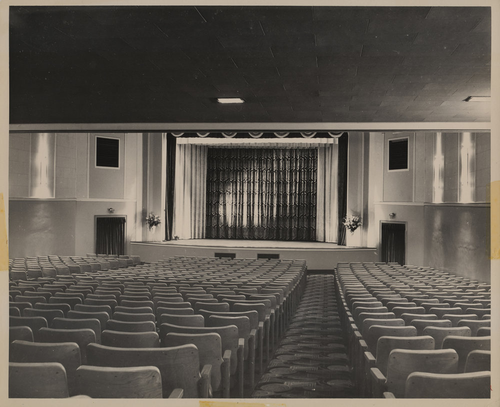 The Appalachian Theatre auditorium, as seen in 1950. Image by Palmer Blair.