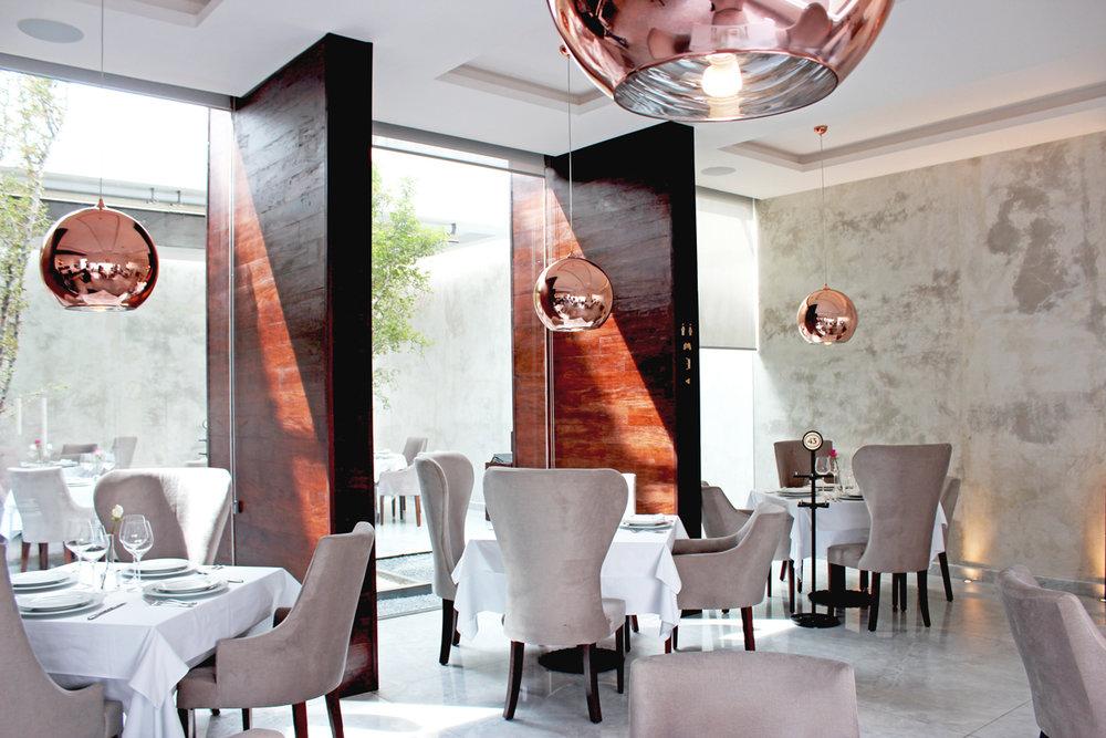 Restaurante Ambientación Atelier Zarate