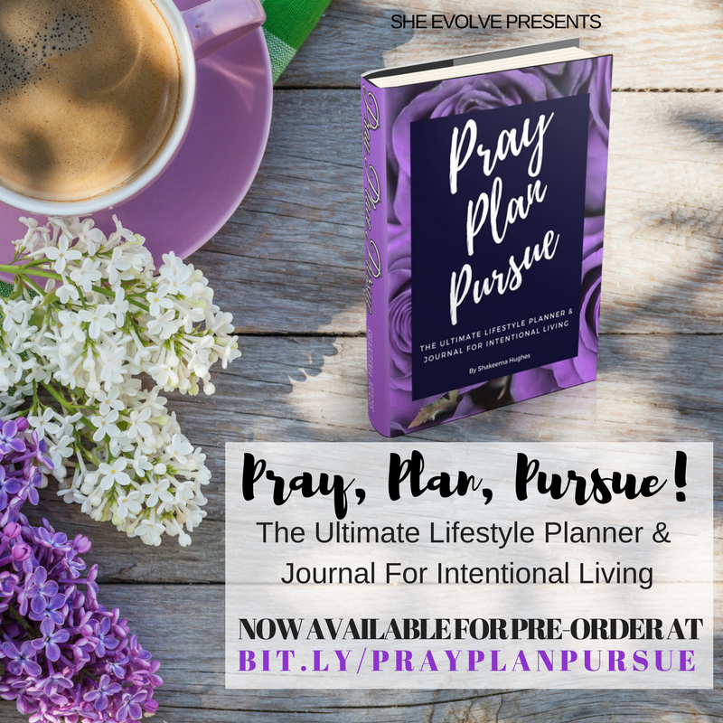 Pray Plan Pursue Planner and Journal -
