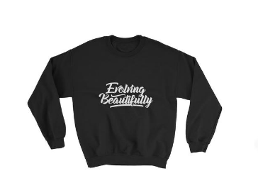 Evolving Beautifully Sweatshirt -