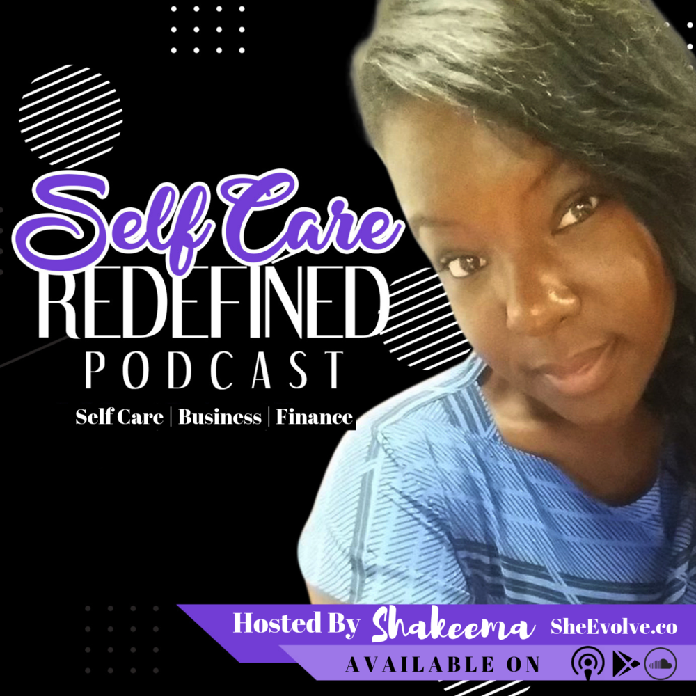 Podcast - The Self Care Redefined Podcast is all about bridging the gap between self care, business, and finances so that you can evolve and live the well balanced life that society has told you is impossible to have. Our community believes that self care is not selfish and knows it is necessary to sharpen your mind, be intentional with your time, and increase your income without neglecting yourself in the process. Each week author, speaker, serial entrepreneur, self care advocate, and finance expert Shakeema Hughes, share a solo episode or an empowering guest interview that both influences and moves the masses to take self care seriously and live life with intention while creating a wealthy lifestyle and evolving in the process.
