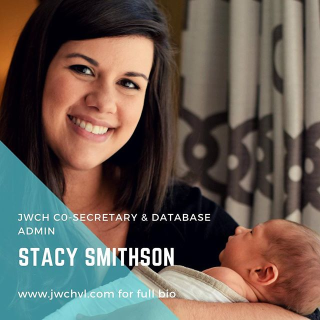 Meet Stacy Smithson! Our fearless co-secretary and database admin!! She's a new mama to a PRECIOUS baby boy, and she is still finding time to help out her Henderson County Community!!! • • • Stacy was born and raised in Henderson County. She currently lives in Mills River with her husband, Luke, and newborn son, Brooks. She teaches 6th grade Language Arts and Social Studies at Rugby Middle School. She is a third generation member of Junior Welfare. Both her mother and grandmother were members of the club.