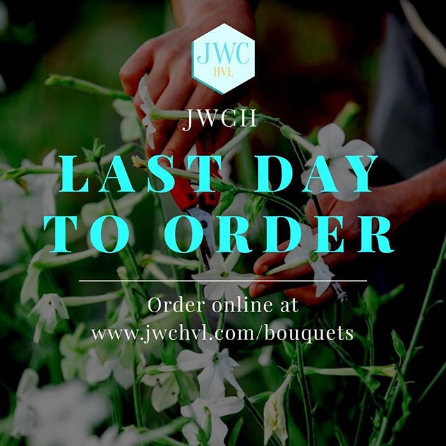 Today's the day!! Get your orders in by midnight tonight in order to secure your Mother's Day Bouquet!!