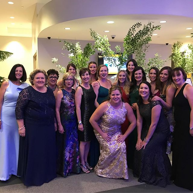 So great to have the Junior Welfare ladies at the @pardeehospitalfoundation gala last night!