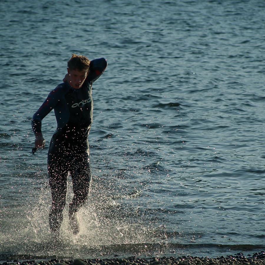 - Swim 1500 m
