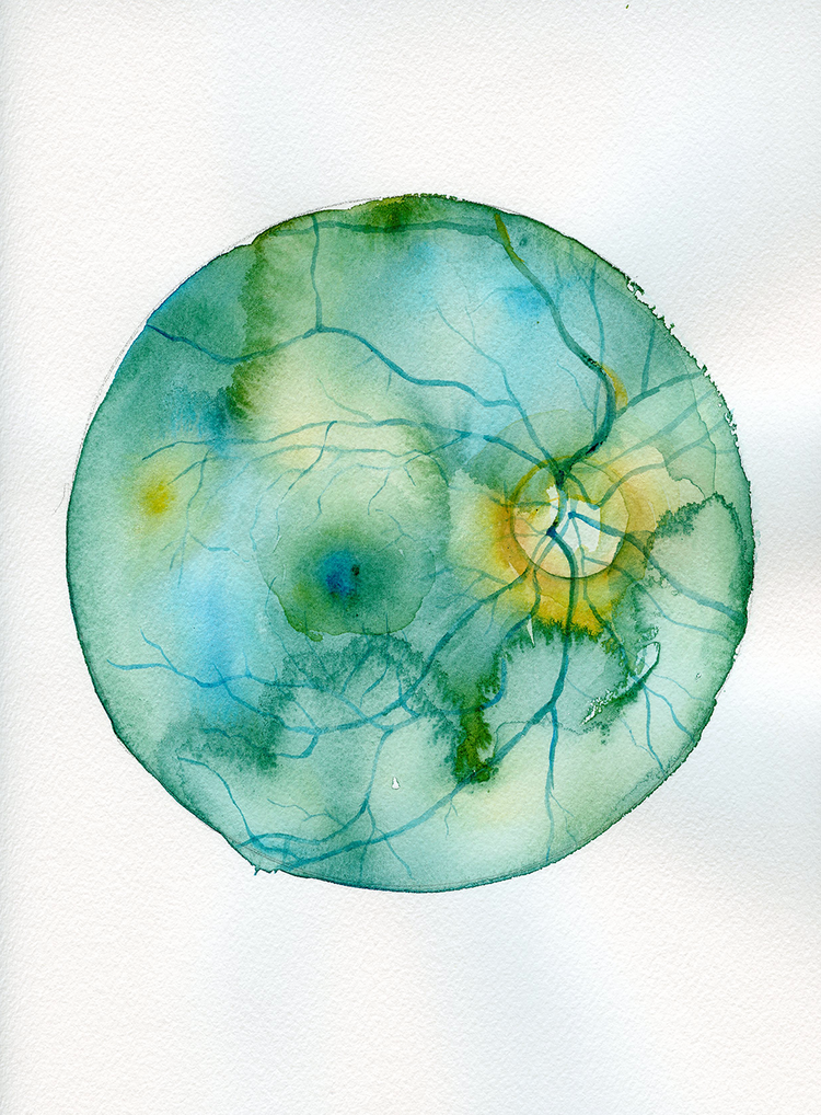 """Retina"" art by Kaitlin Walsh"
