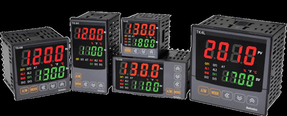 Temperature controllers,serie TK.