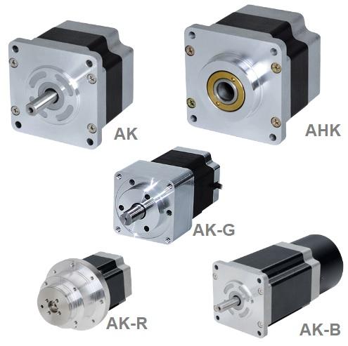 Stepper motors, series AK and AHK.