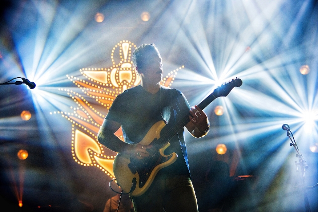 Jason Isbell performs at the Ryman Auditorium in Nashville. Photo by Erika Goldring.
