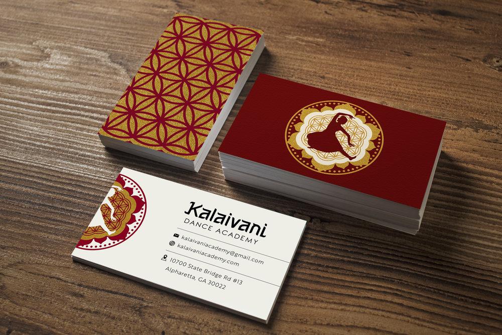 Kalaivani Dance Academy - Brand Identity, Website