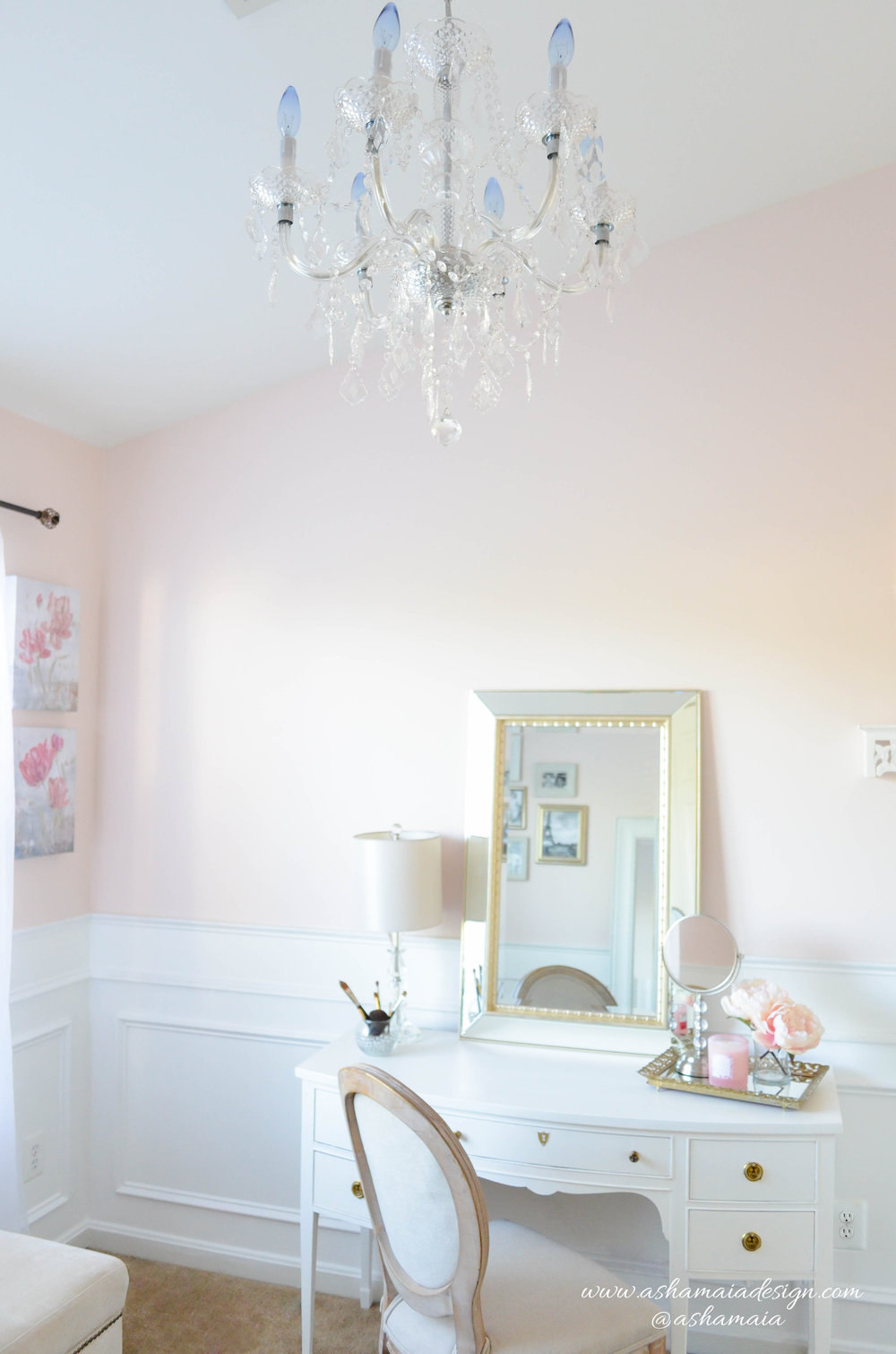Parisian - French Country Inspired Beauty Room