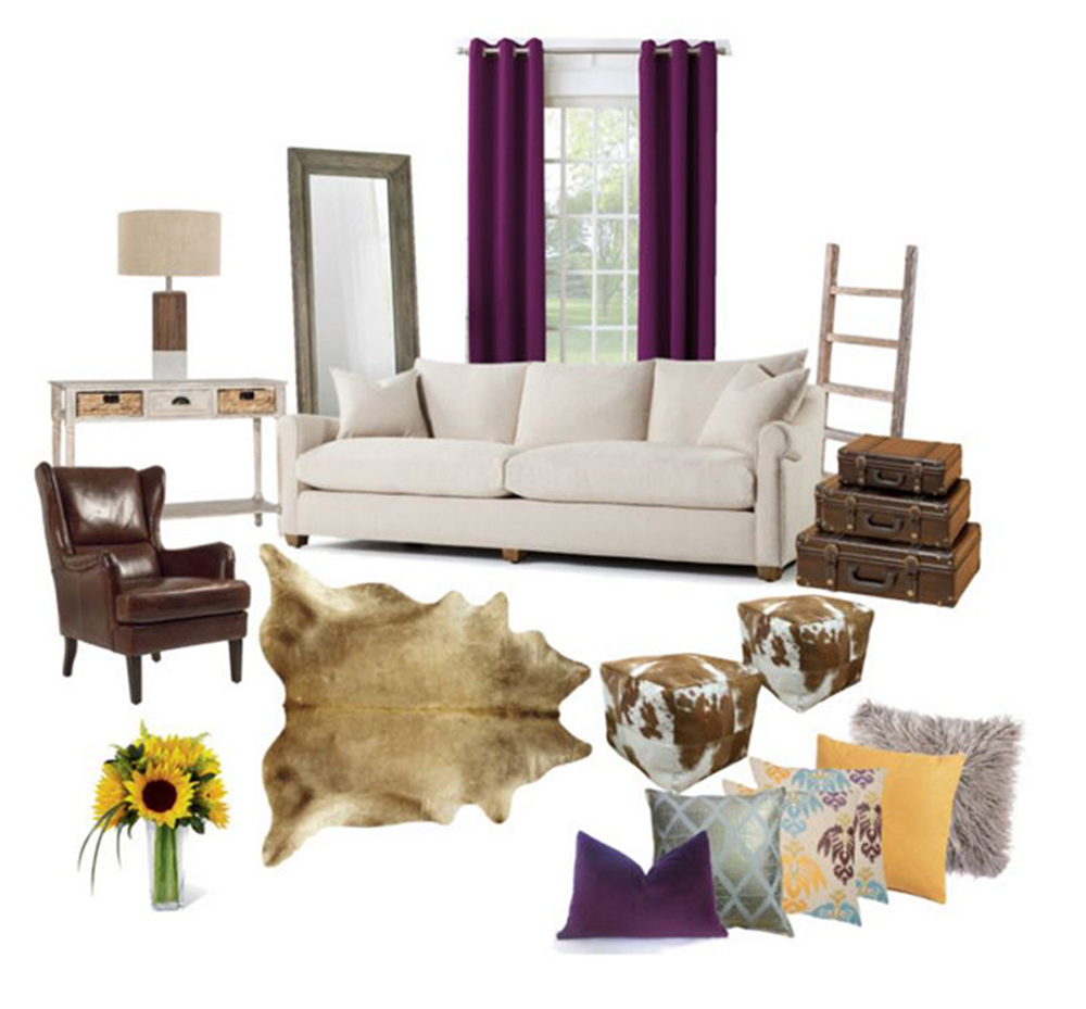 Vintage Inspired Rustic Living Room.JPG