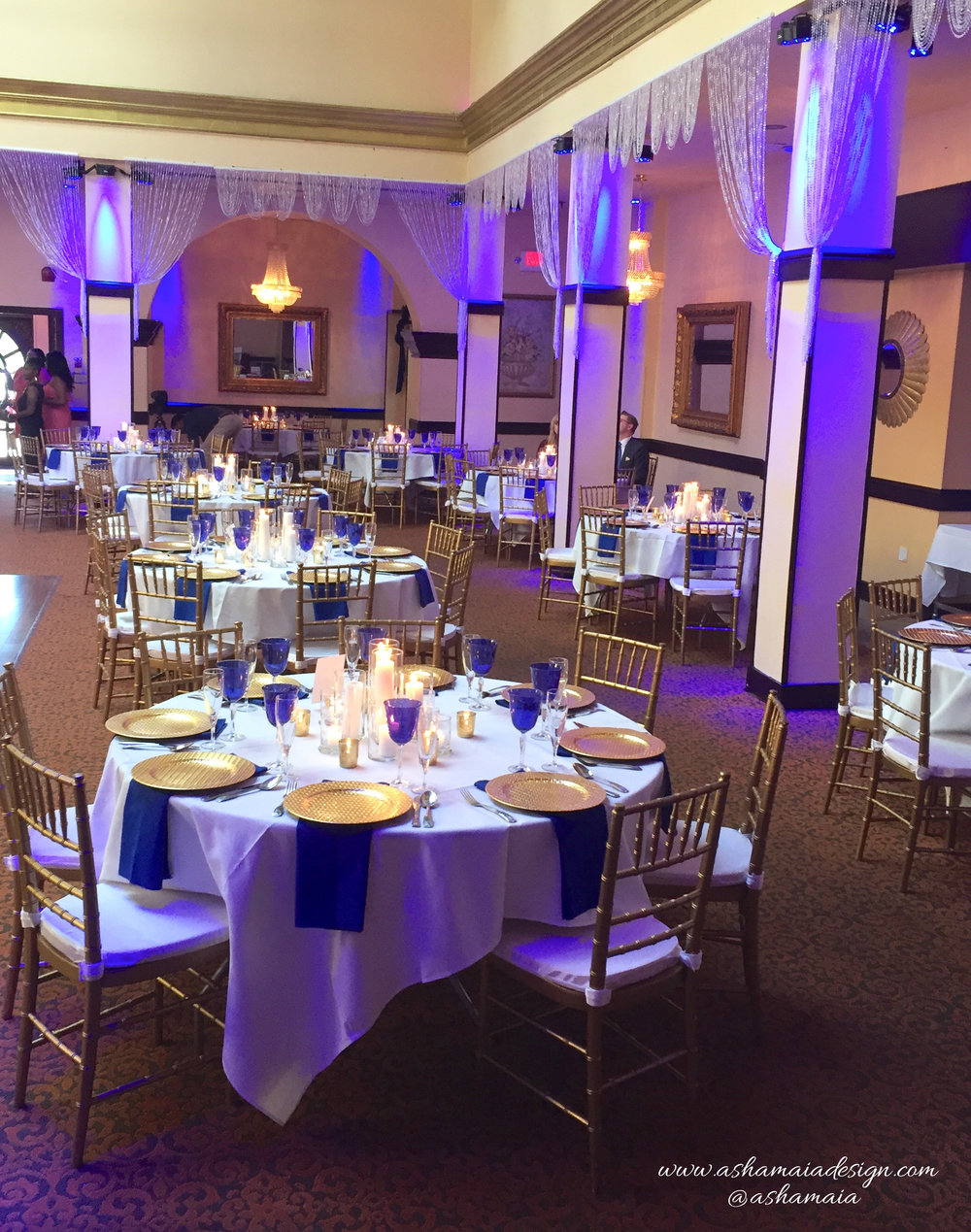 Blue White & Gold Wedding Reception-6.jpeg