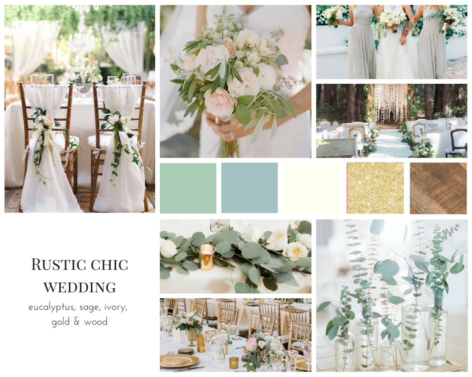 Rustic Chic Wedding Mood Board