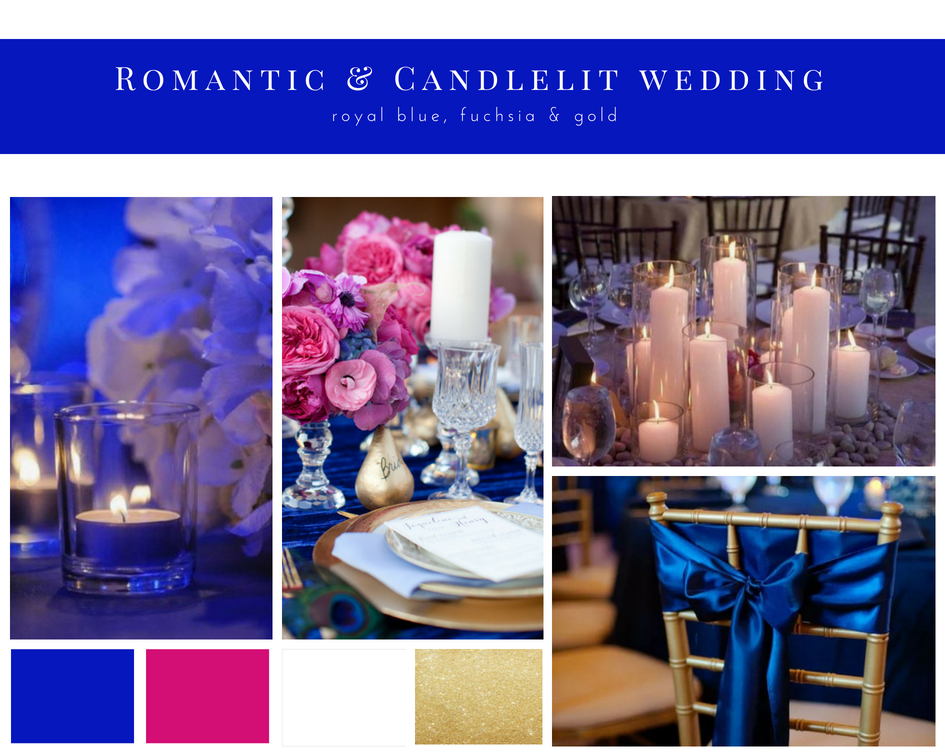Romantic & Candlelit Wedding Mood Board