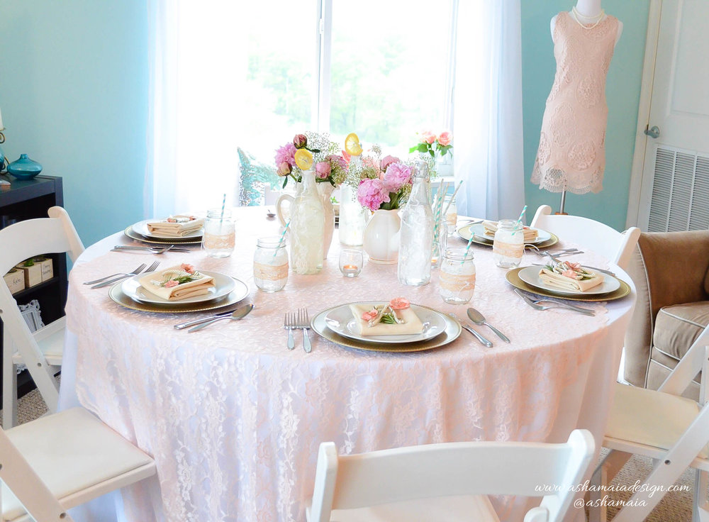 Lace & Pearls Bridal Shower Brunch