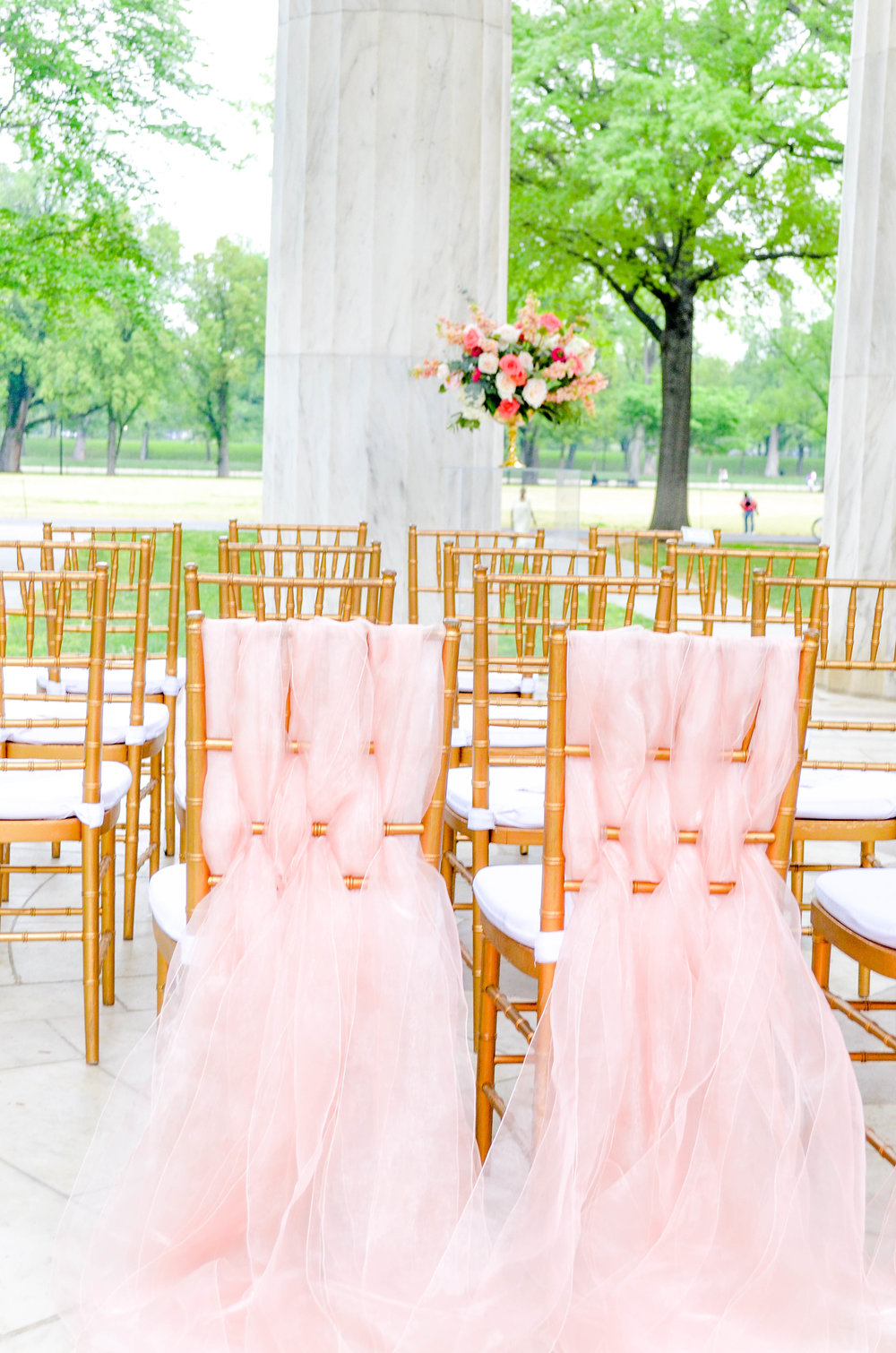 Whimsical Coral Wedding