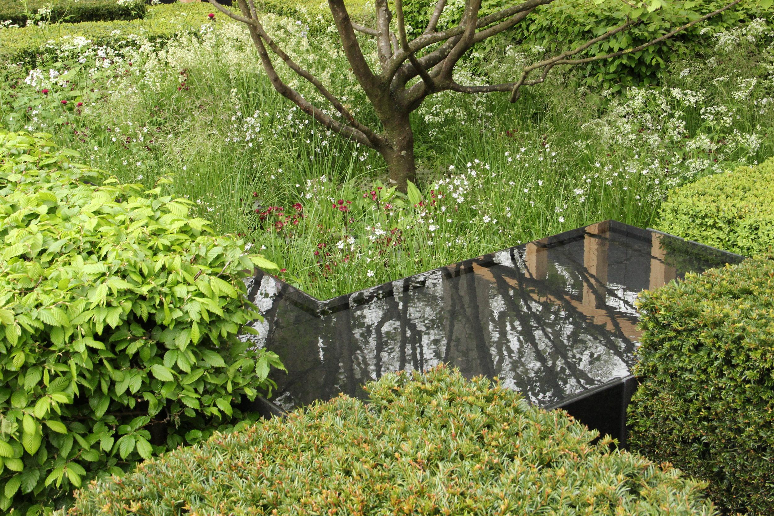 Laurent-Perrier Garden detail