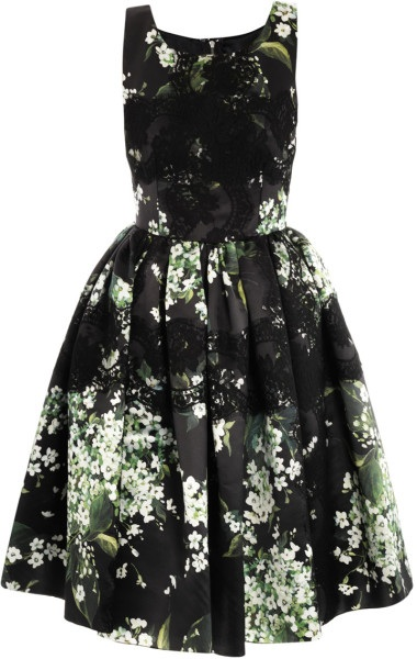 The Lily of the Valley Dress from the Spring 2013 Dolce & Gabbana Collection (Photo Credit:  Dolce & Gabbana via Lyst)
