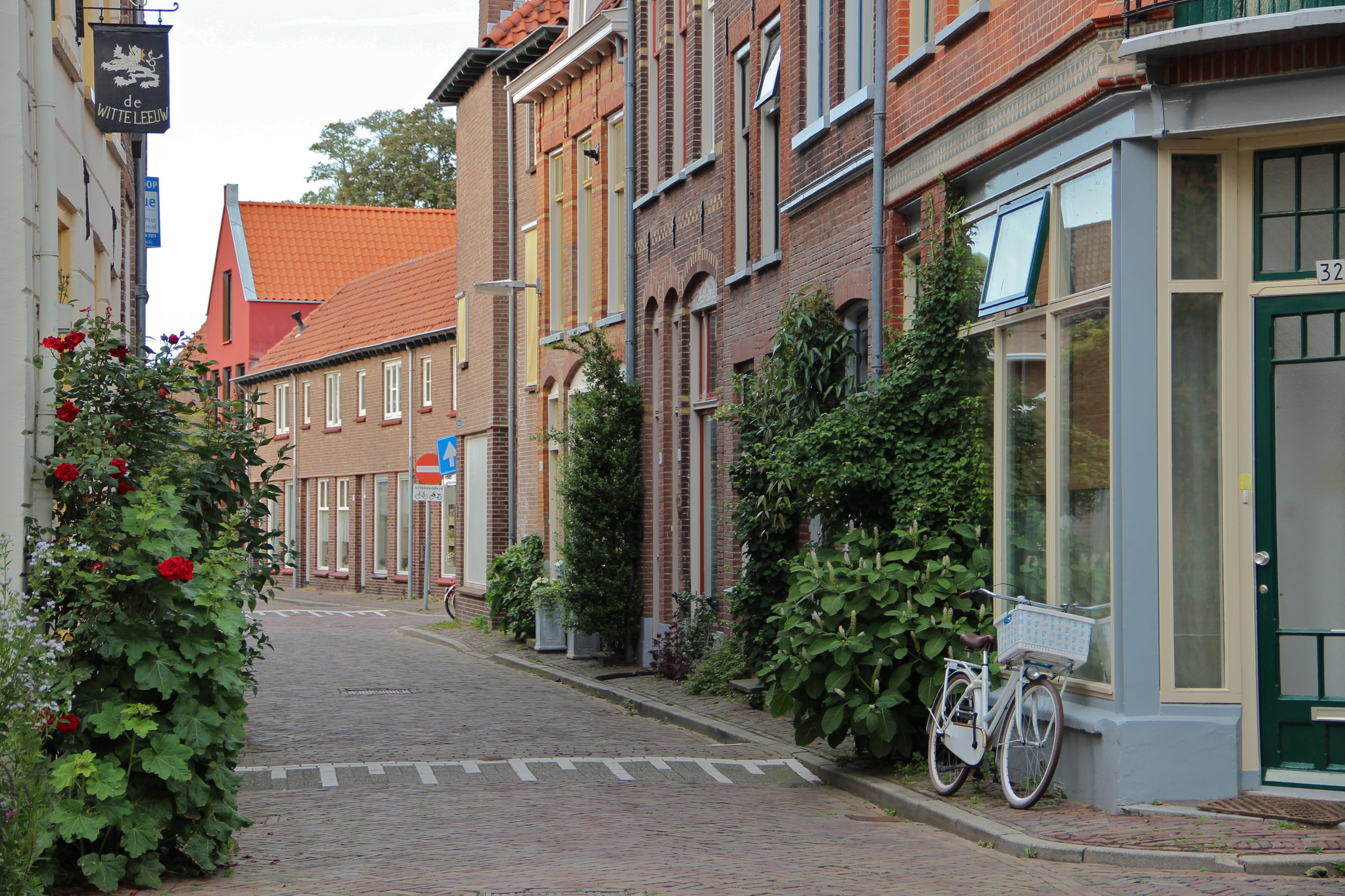 a quiet scene of life in Zutphen, the Netherlands
