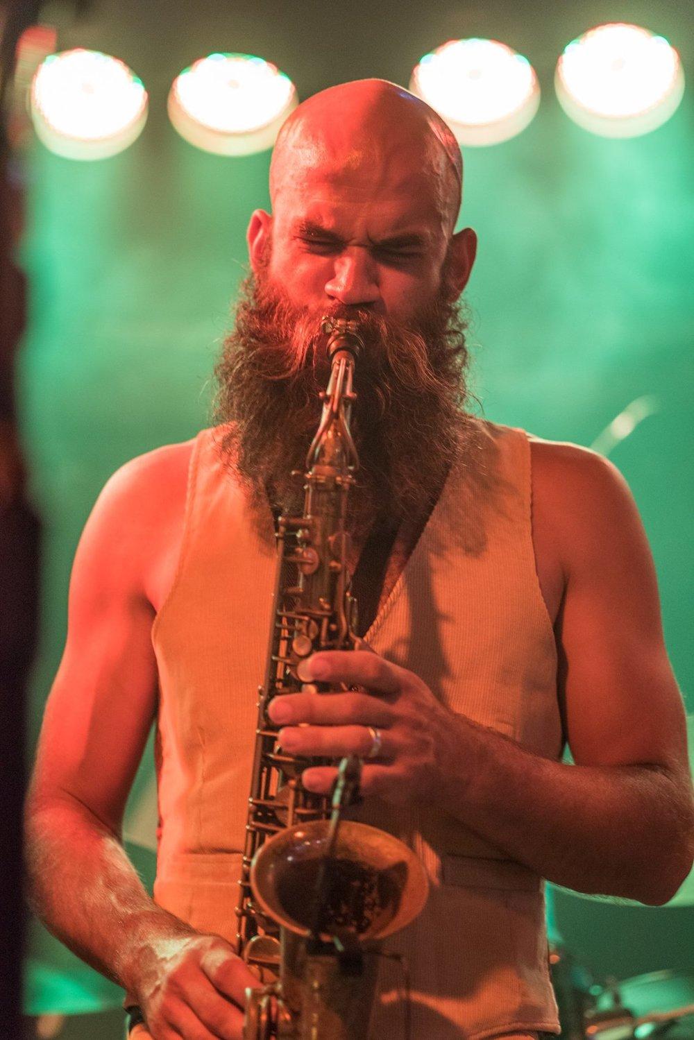 Russell Clarke - Saxophone, Vocals
