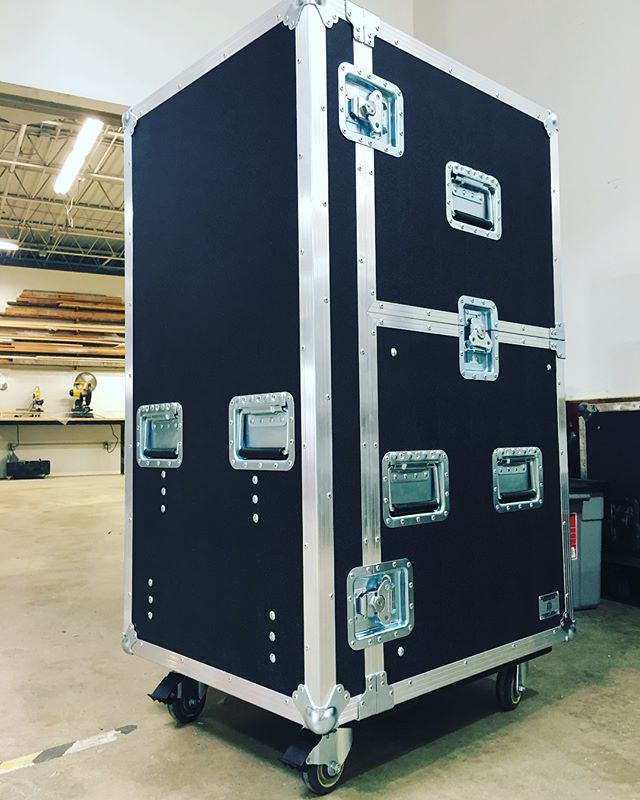 The printer workbox is all wrapped up and ready to head out to our local client! • • • #MadeBySlam #Slamhammer #gear #case #roadcase #flightcase #live #event #production #music #industry #backstage #mpls #mn #electronics #workshop #woodshop #wood #woodwork #woodworking #photography #videography #picoftheday #photooftheday #madebyhands  #workbox #printer