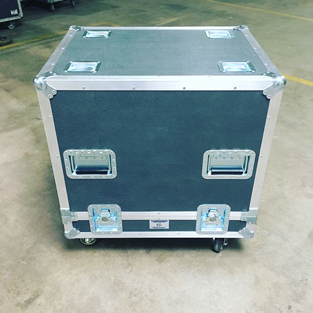 New caseover for a W8LM for our production team! • • • #MadeBySlam #Slamhammer #gear #case #roadcase #flightcase #live #event #production #music #industry #backstage #mpls #mn #electronics #workshop #woodshop #wood #woodwork #woodworking #photography #videography #picoftheday #photooftheday #madebyhands