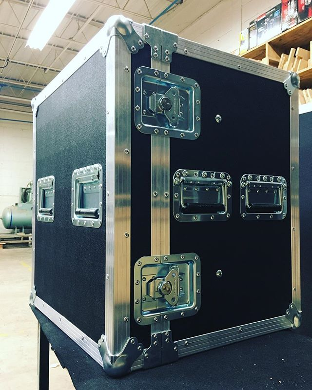 Brand new 12RU shockmount rack for @atmosphere! • • • #MadeBySlam #Slamhammer #gear #case #roadcase #flightcase #live #event #production #music #industry #backstage #mpls #mn #electronics #workshop #woodshop #wood #woodwork #woodworking #photography #videography #picoftheday #photooftheday #madebyhands #split #rack #amp