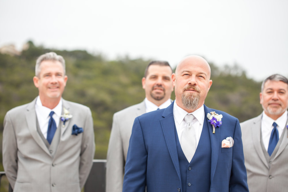 The guys , looking all snazzy