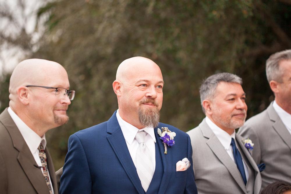 First Look Texas wedding photographer