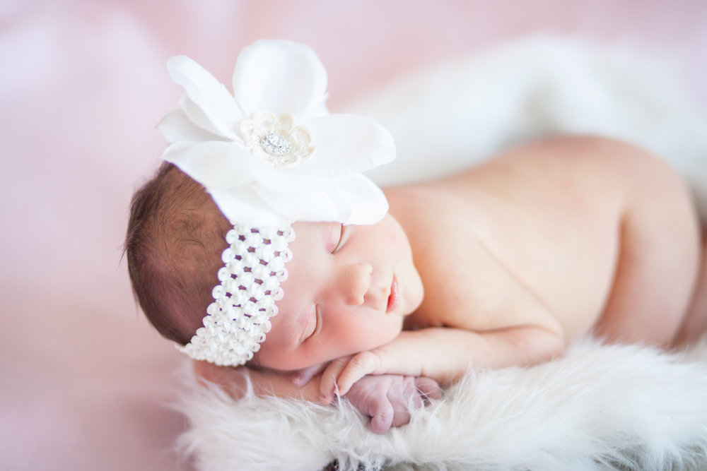 A baby girl - is a miracle that never ceases to be miraculous