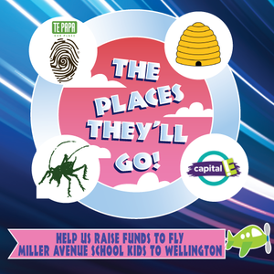 GAS PAEROA helped Miller Avenue School raise funds for a school trip to Wellington.