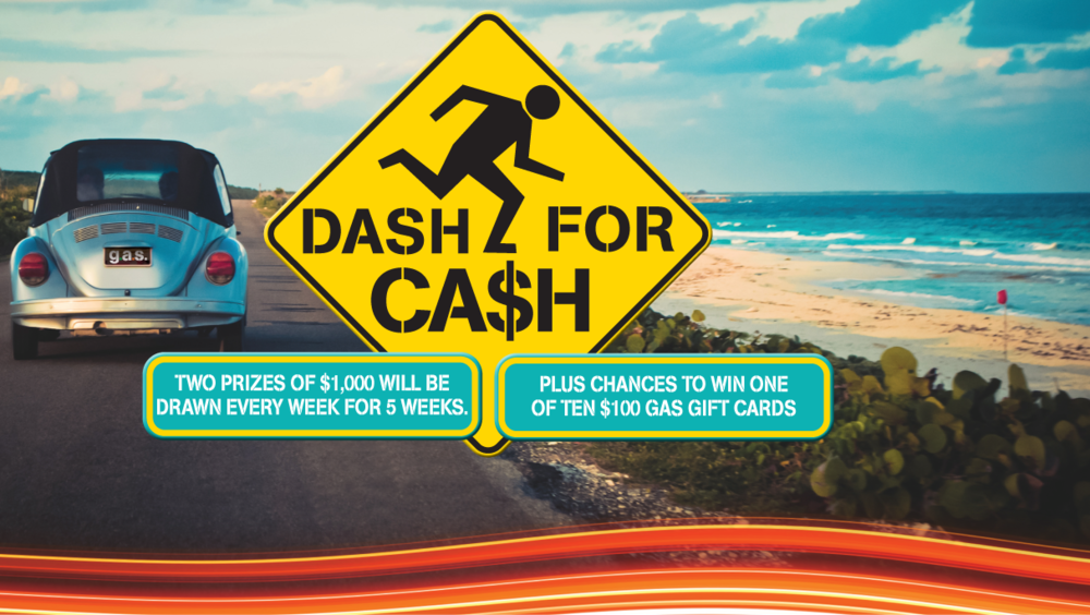Head to your nearest GAS for your chance to win $1,000 CASH! - Spend $35 or more on fuel and be in to win. There's $10,000 up for grabs! CLICK HERE