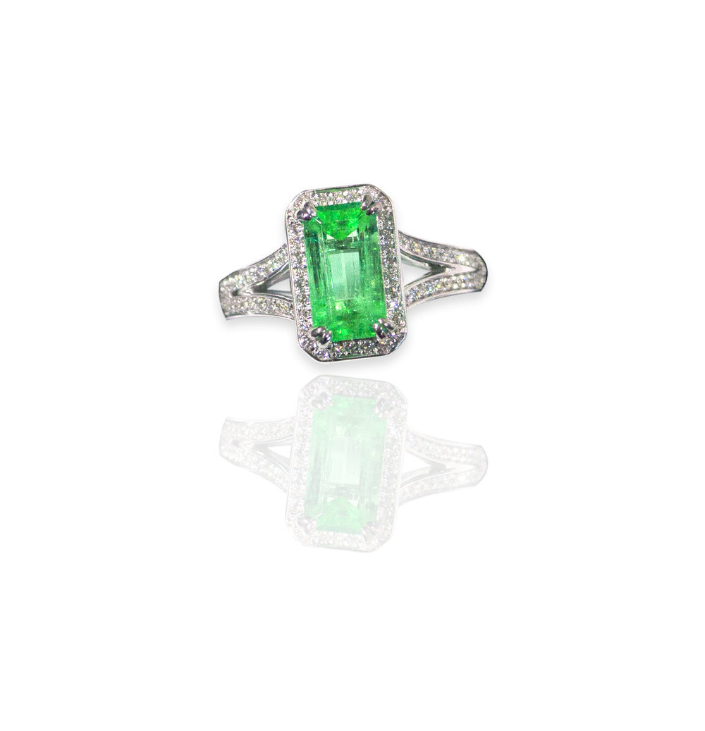 Columbian Emerald ring!