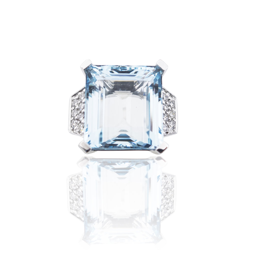 Aquamarine ring!