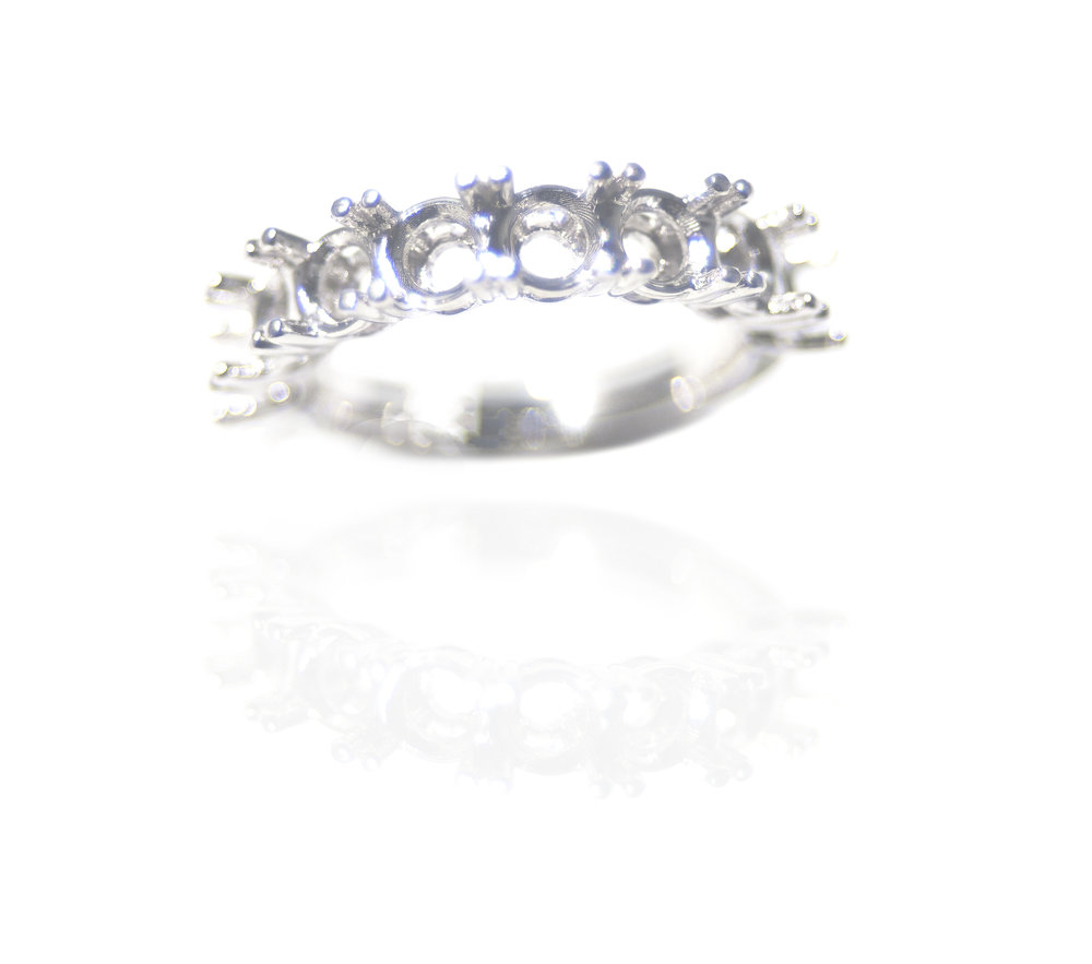 Diamond setting ring!