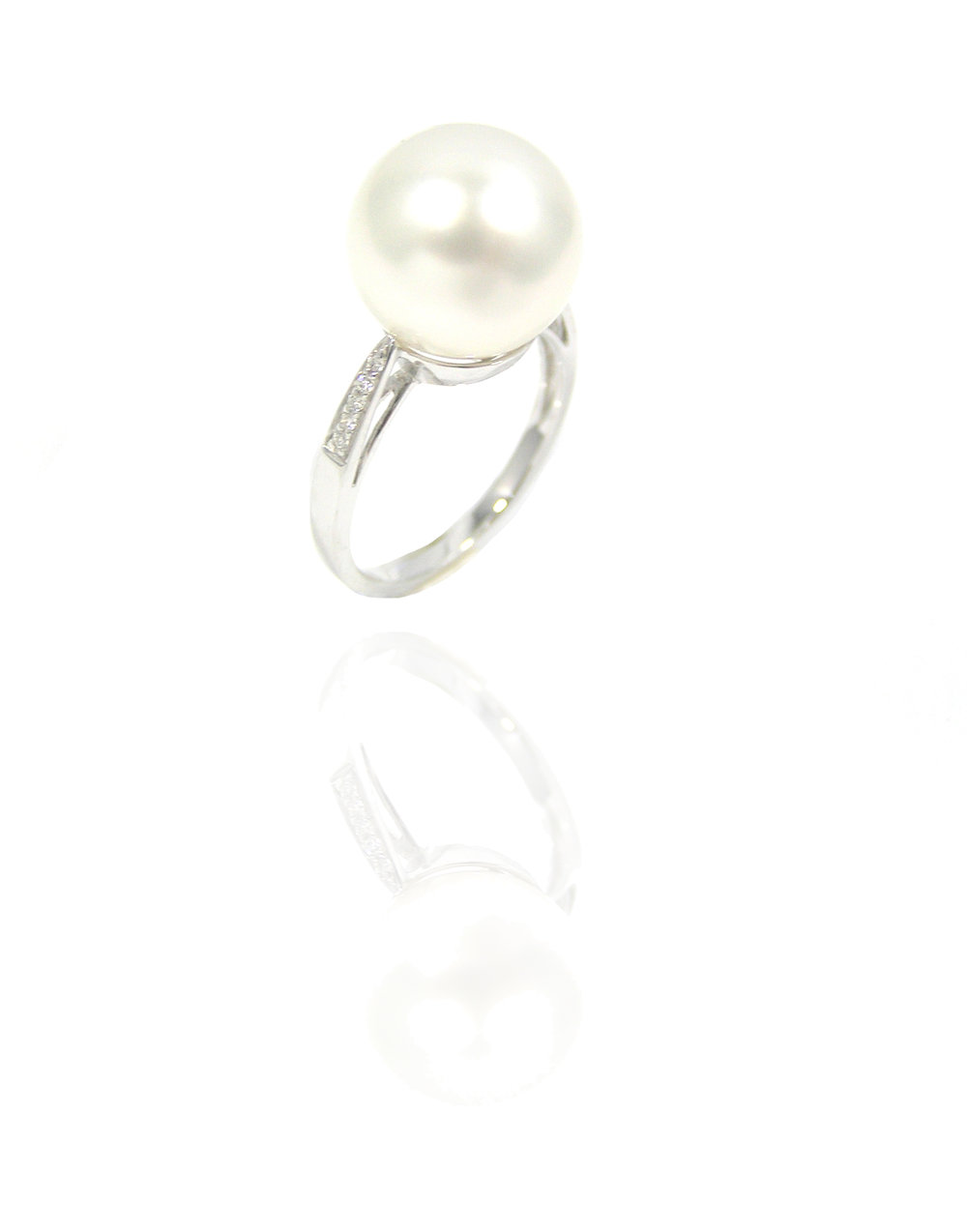 Pearl diamond ring!
