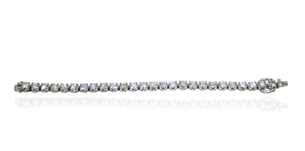 Diamond tennis bracelet!