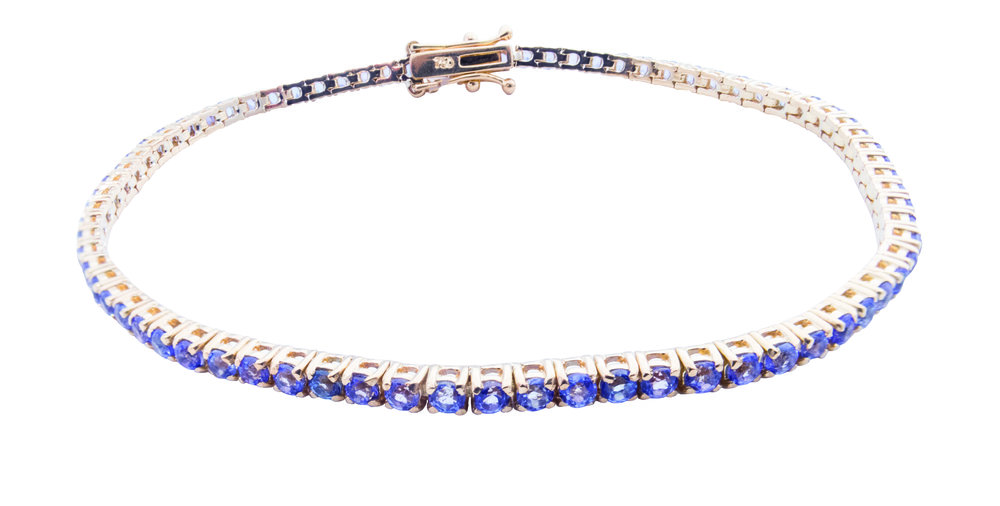 Tanzanite tennis bracelet! - SOLD!