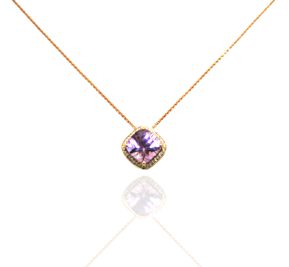 Amethyst necklace!