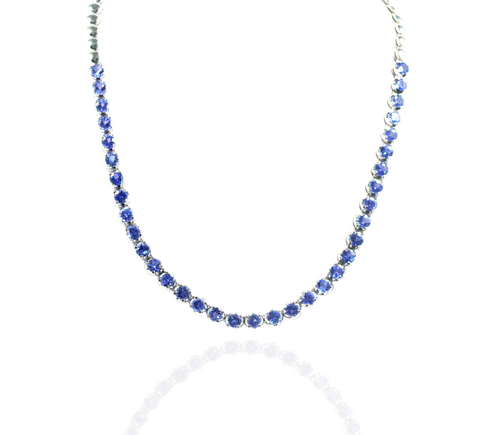 Tanzanite necklace!