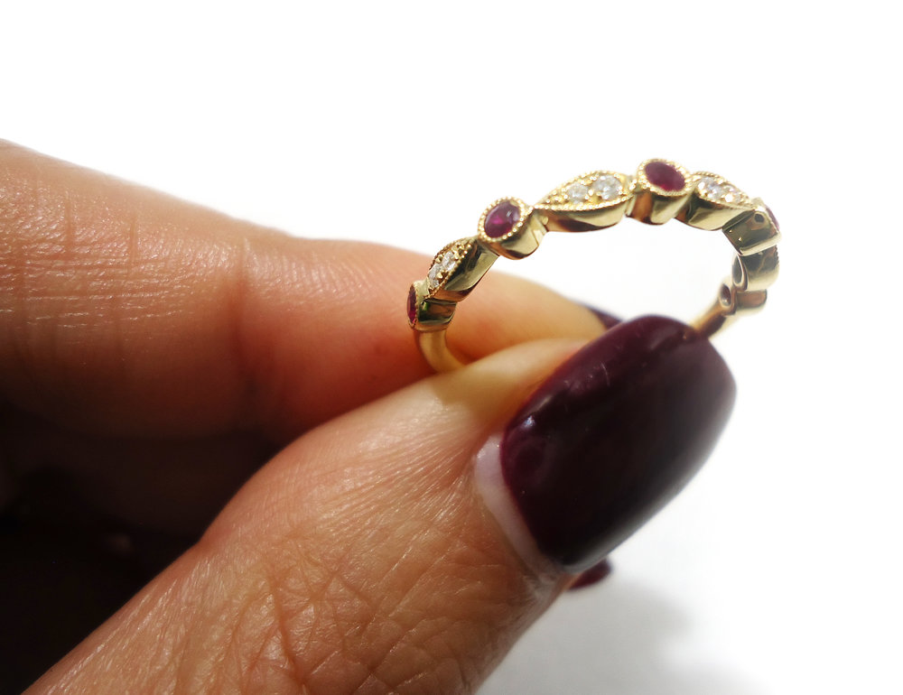 Ruby gold ring!