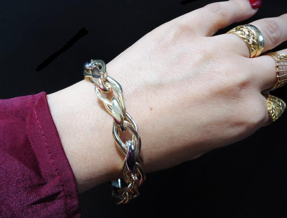 Italian gold bracelet!