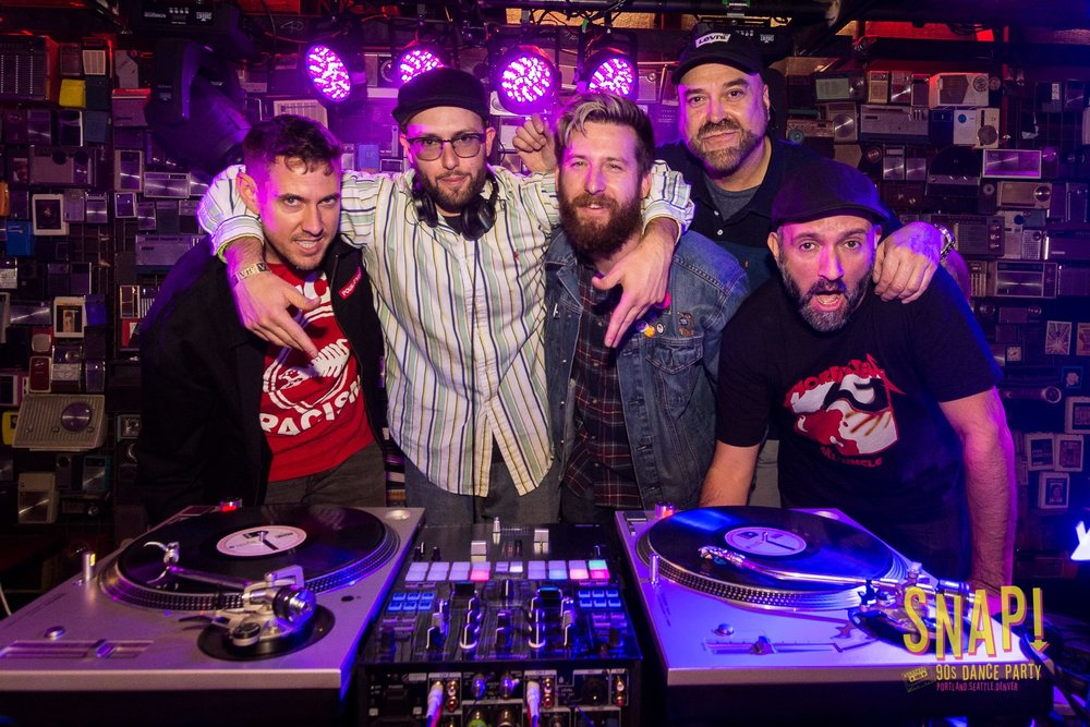 The SNAP Crew   With over 100 years of combined DJ experience, the SNAP crew draws upon the different perspectives and experiences of each DJ to curate parties that have something for everyone.