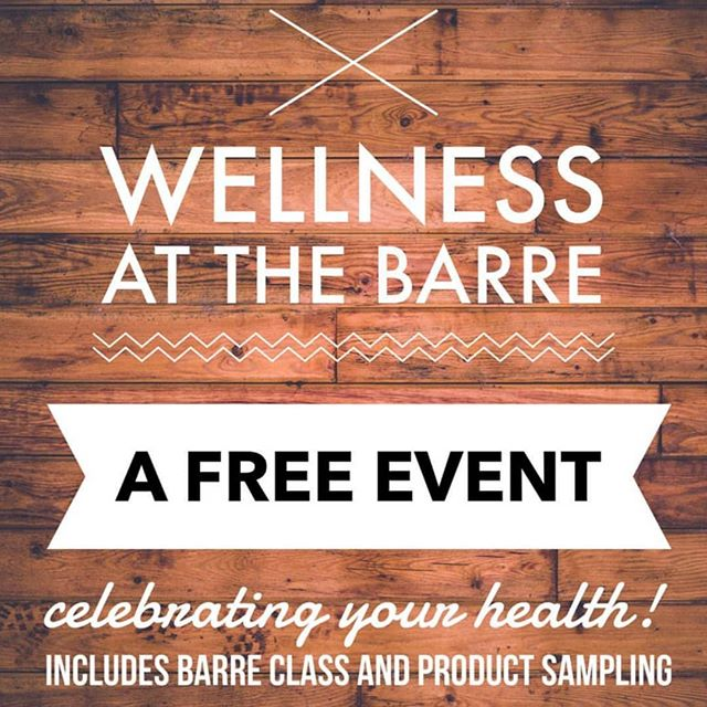 We have a few spots left! What are you doing tomorrow?  #favoredlifefit #wellnessevent #arbonne #barre #theORIGINAL