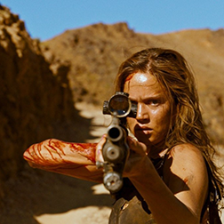 REVENGE Director Coralie Fargeat Never take your mistress on an annual guys' getaway, especially one devoted to hunting - a violent lesson for three wealthy married men.