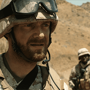 HAJJI   Director: R.H. Norman  A fateful encounter between two U.S. Marines and an Afghan teenager fuels a wartime cycle of violence in this inspired-by-true-events short starring Ross Marquand ( The Walking Dead ) and Dayo Okeniyi ( Hunger Games ).