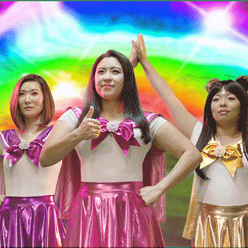 BFF GIRLS   Director: Brian Lonano  Three dorky American girls magically transform into beautiful Japanese superheroes and fight a tampon monster as they begin their journey into womanhood.